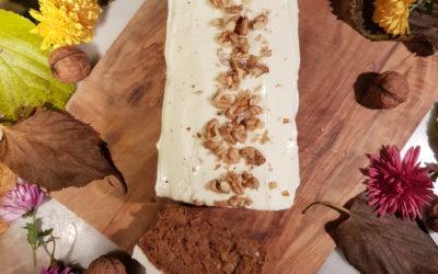 Cake à la carotte et son glaçage au fromage frais