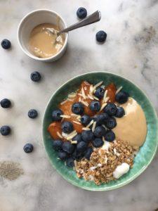 porridge à la pâte de noix de cajou